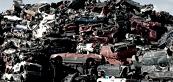 ערמת רכבים לברזל בפירוק